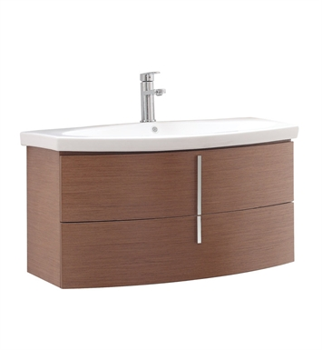 "Avanity SIENA-VS36-CH Siena 36"" Bathroom Vanity in Chestnut Finish with Vitreous China Top"