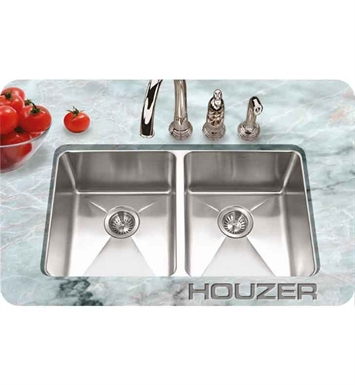 Houzer NOD-4200 Undermount Double Basin Kitchen Sink