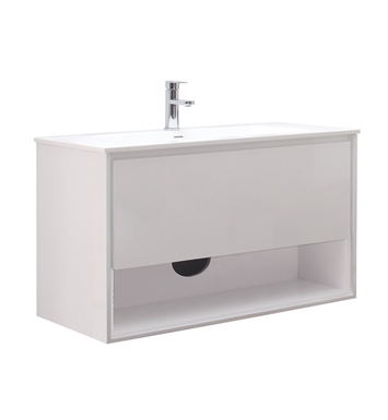 "Avanity SONOMA-V39-WT Sonoma 39"" Bathroom Vanity in White finish"