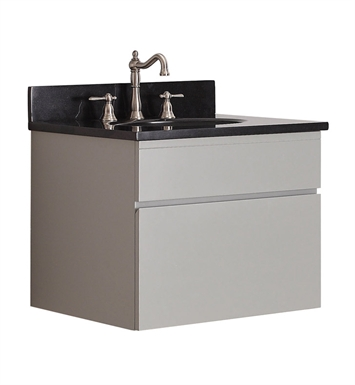 "Avanity TRIBECA-V24-CG Tribeca 24"" Wall Mount Bathroom Vanity in Chilled Gray finish"