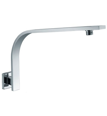 ALFI Brand AB16GSW-PC Square Wall Mounted Polished Chrome Shower Arm for Rain Shower Heads