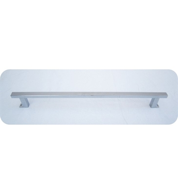 "ALFI Brand AB108TB 17"" Chrome Squared Towel Bar"
