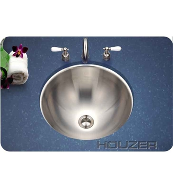 Houzer CR-1620-1 Undermount Round Bathroom Sink