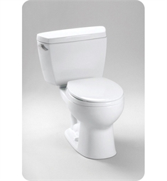 Toto Drake® Toilet 1.6 GPF, with Insulated Tank and Bolt Down Lid