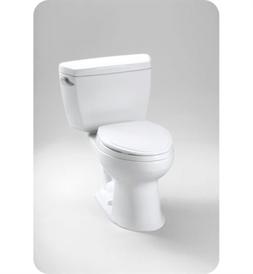 TOTO CST744E#01 Eco Drake® Toilet 1.28 GPF With Finish: Cotton