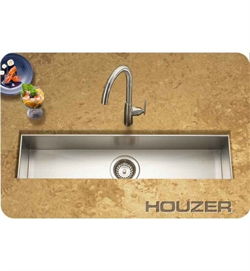 Houzer CTB-3285 Undermount Single Basin Bar Sink