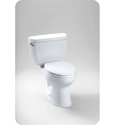 Toto Eco Drake® Two-Piece Toilet, 1.28GPF Right Hand Trip Lever