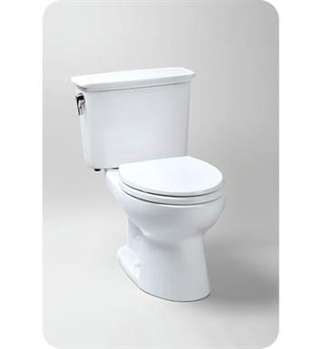 TOTO CST744EGN#01 Eco Drake® Transitional Toilet, 1.28 GPF SanaGloss® With Finish: Cotton