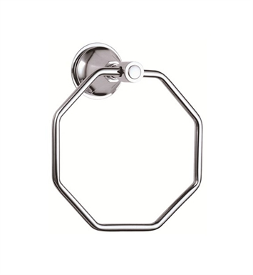 Danze D441131 Brandywood™ Towel Ring in Chrome