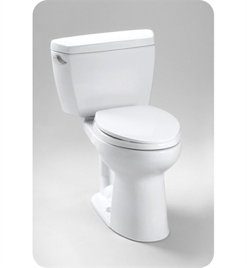 TOTO CST744EL#51 Eco Drake® Toilet 1.28 GPF ADA With Finish: Ebony <strong>(SPECIAL ORDER. USUALLY SHIPS IN 3-4 WEEKS)</strong>