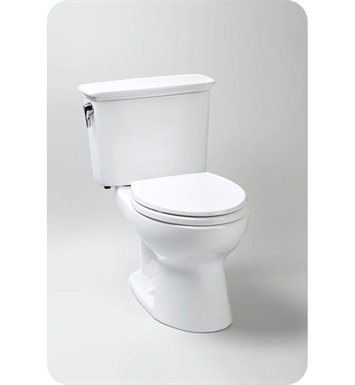 TOTO CST744EN#01 Eco Drake® Transitional Toilet, 1.28 GPF With Finish: Cotton