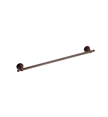 "Danze D441601BR Bannockburn™ Towel Bar 24"" in Tumbled Bronze"