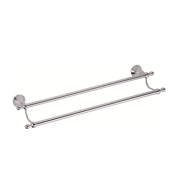 "Danze D441602 Bannockburn™ Double Towel Bar 24"" in Chrome"