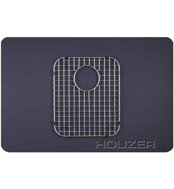 Houzer BG-3500 Rectangular Stainless Steel Sink Rack from the WireCraft Series