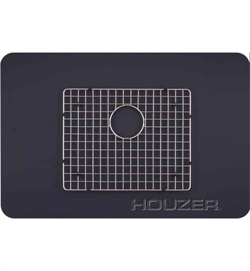 Houzer BG-4170 Rectangular Stainless Steel Sink Rack from the WireCraft Series