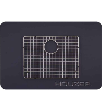 Houzer BG-4210 Rectangular Stainless Steel Sink Rack from the WireCraft Series