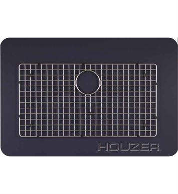 Houzer BG-4320 Rectangular Stainless Steel Sink Rack from the WireCraft Series