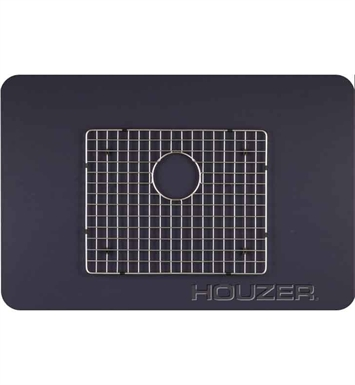Houzer BG-5370 Rectangular Stainless Steel Sink Rack from the WireCraft Series