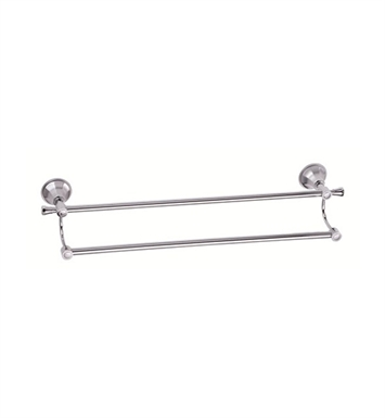 "Danze D441611 Brandywood™ Double Towel Bar 24"" in Chrome"