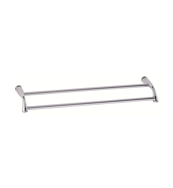 "Danze D441612 Plymouth™ Double Towel Bar 24"" in Chrome"