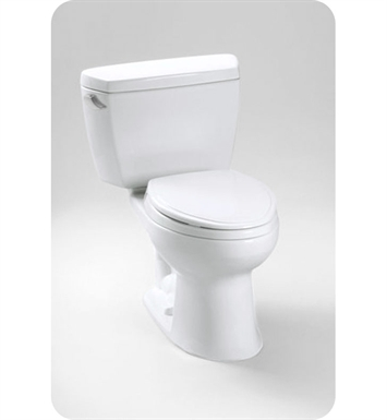 Toto Drake® Two Piece Toilet, Right Hand Trip Lever, 1.6 GPF
