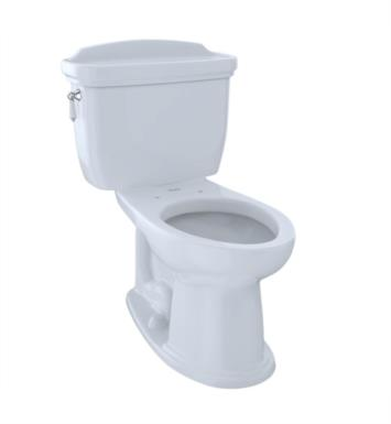 TOTO CST754EF#11 Eco Dartmouth Two-Piece Elongated Toilet with 1.28 GPF Single Flush With Finish: Colonial White