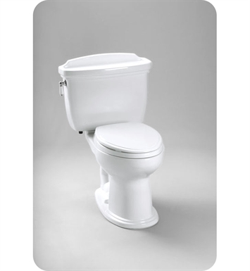 TOTO CST754EF#01 Eco Dartmouth® Toilet, 1.28 GPF ADA With Finish: Cotton