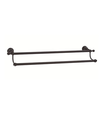 "Danze D443611BS Opulence™ Double Towel Bar 24"" in Satin Black"