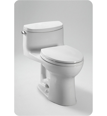 TOTO MS634114CEFG#03 Supreme® II One-Piece High-Efficiency Toilet, with SanaGloss, 1.28GPF With Finish: Bone