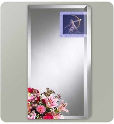 Sofia ART Artemis Collection Single Door Surface Medicine Cabinet