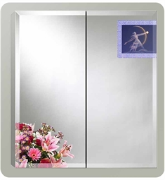 Sofia Artemis Collection Double Door Surface Medicine Cabinet