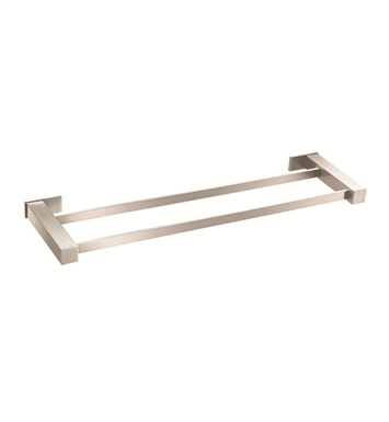 "Danze D446133BN Sirius™ Double Towel Bar 24"" in  Brushed Nickel"