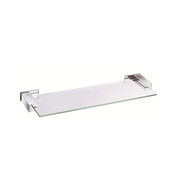 "Danze D446134 Sirius™ Glass Shelf 18"" in Chrome"