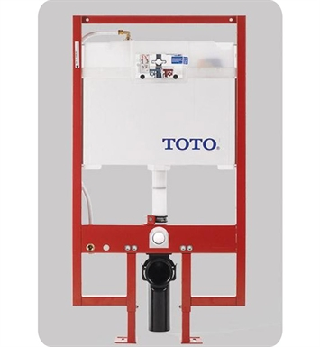 TOTO WT152M#01 Duofit In-Wall Tank System with Copper Supply line, 1.6 GPF & 0.9 GPF With Finish: Cotton