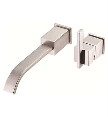Danze Sirius™ Single Handle Wall Mount Lavatory Faucet Trim Kit in Brushed Nickel