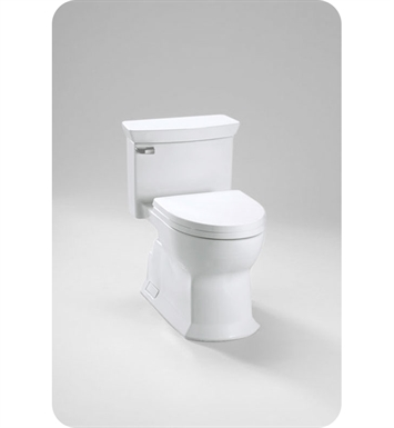 TOTO MS964214CEFG#01 Eco Soirée® One Piece Toilet, Universal Height, 1.28 GPF With Finish: Cotton