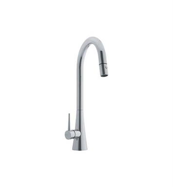 Franke FF2580 Satin Nickel Pulldown Spray High Arch Kitchen Faucet