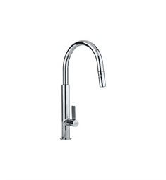 Franke FF2700 Polished Chrome Pullout Spray High Arch Kitchen Faucet