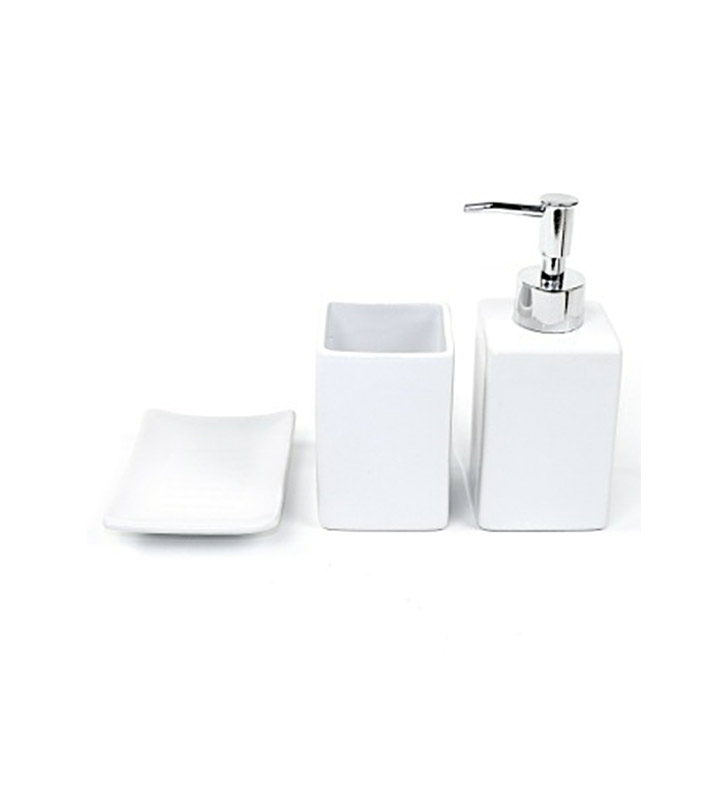 Nameeks ve100 gedy bathroom accessory set for Cream bathroom accessories set