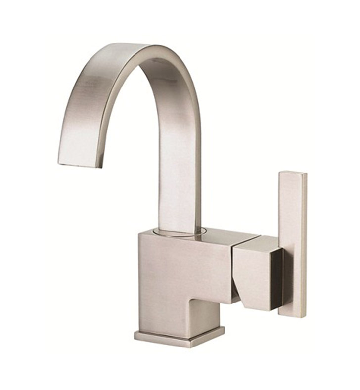 danze sirius single handle lavatory faucet in brushed nickel
