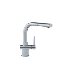 Franke FFP1080 Satin Nickel Ovale Pullout Spray Kitchen Faucet