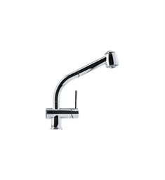 Franke FFPS700 Chrome Pullout Spray Kitchen Faucet with Dual Spray
