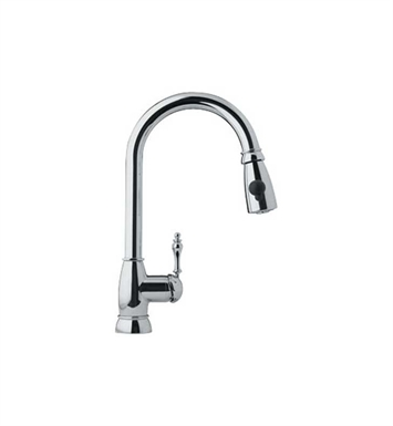 Franke FHPD100 Chrome Farm House Kitchen Faucet with Side Spray