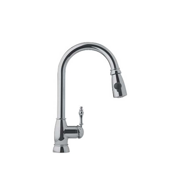 Franke FHPD180 Satin Nickel Farm House Kitchen Faucet with Side Spray