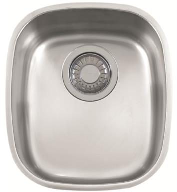"Franke CPX110 Compact 12 1/2"" Single Basin Undermount Stainless Steel Kitchen Sink"