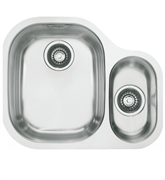 Franke CPX160 Compact Double Basin Undermount Stainless Steel Kitchen Sink