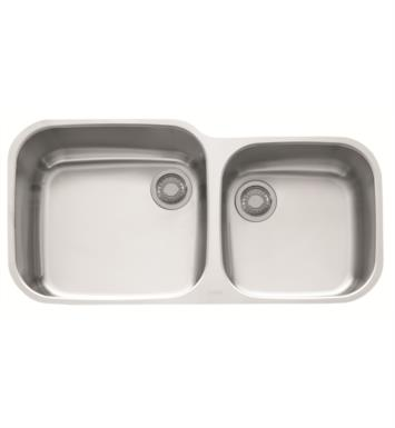 "Franke GNX120 EuroPro 38 3/8"" Double Basin Undermount Stainless Steel Kitchen Sink"