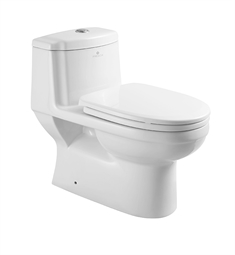 Fresca Dorado One Piece Dual Flush Toilet with Soft Close Seat