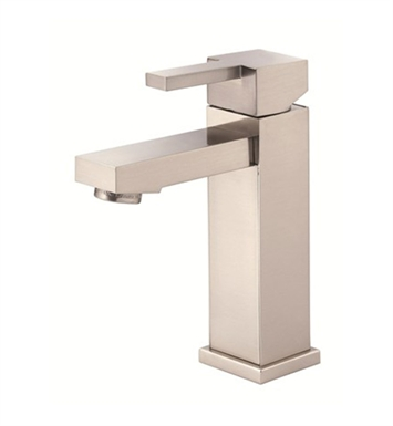Danze Reef™ Single Handle Lavatory Faucet in Brushed Nickel