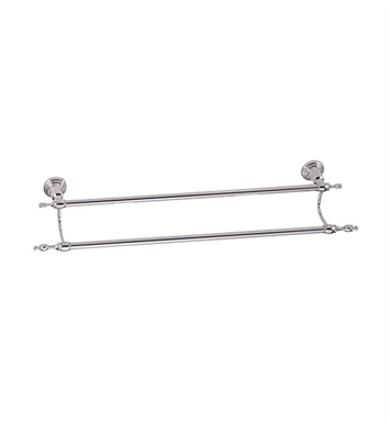 "Danze Sheridan™ Double Towel Bar 24"" in Chrome"